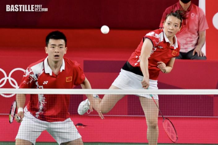 【東奧羽毛球】鄧俊文謝影雪四強失利 周五銅牌戰鬥日本組合