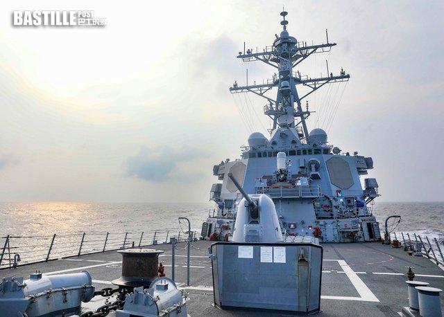 年內第7次 美軍驅逐艦班福特號通過台海