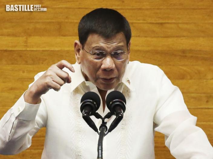 菲律賓總統杜特爾特:不打疫苗不准出門