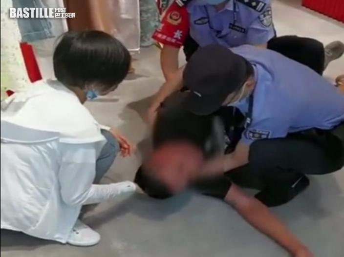 安徽女扮輕生男友真激暈 民警CPR救回一命
