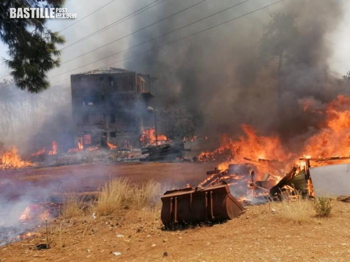 土耳其南部山林大火 數十人受傷