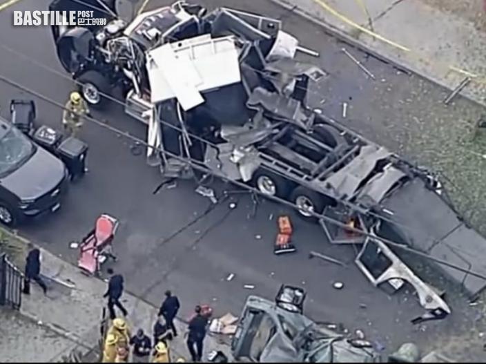 洛杉磯煙花爆炸事故 調查指拆彈小組計錯數釀禍