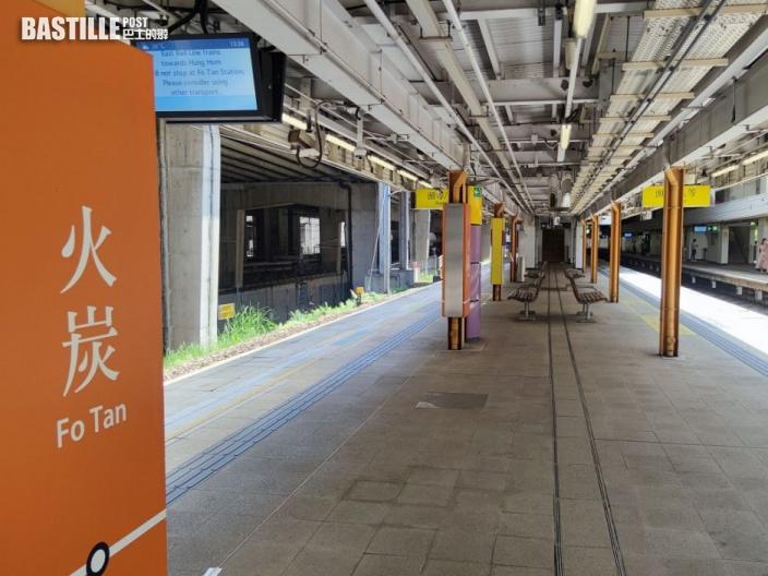 火炭站信號一度故障 東鐵線列車慢駛