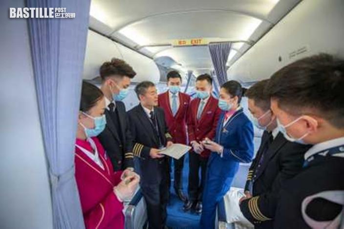 為免疫情蔓延 國際國內航班人員不接觸