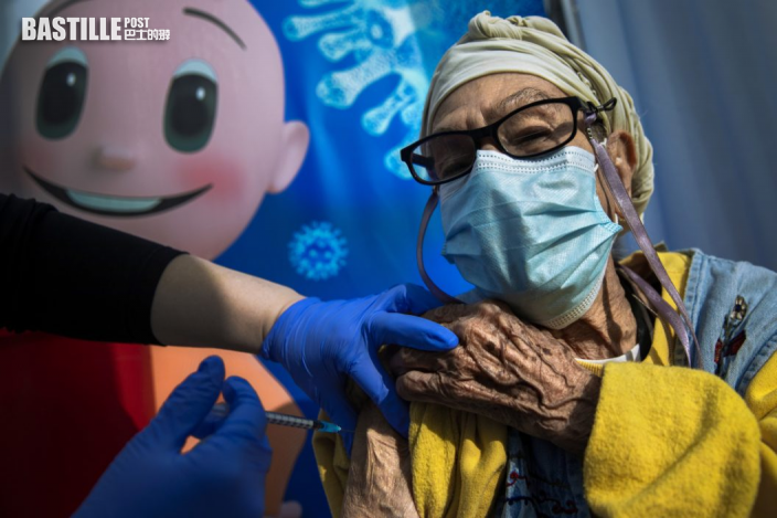 以色列開放60歲以上追加第三劑輝瑞疫苗