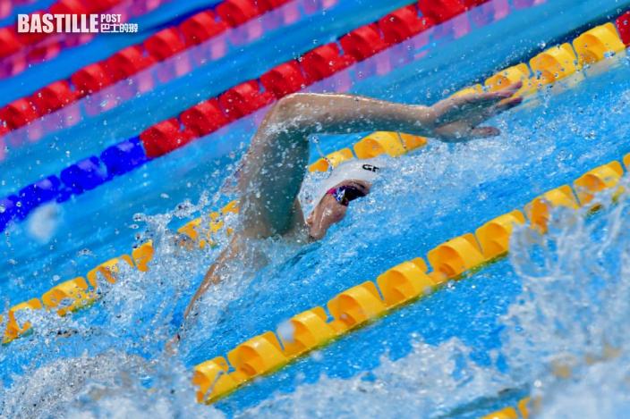 【東奧游泳】何詩蓓勇奪一百米自由泳銀牌 強調八成心態兩成體能