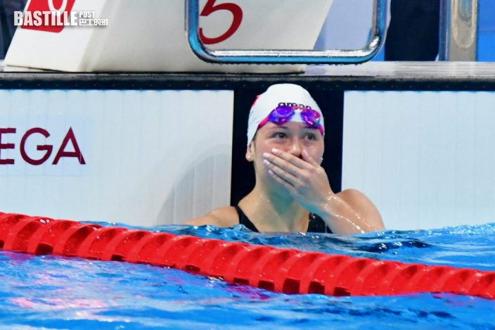 【東奧游泳】何詩蓓奪牌不邀功 強調成就屬於游泳隊