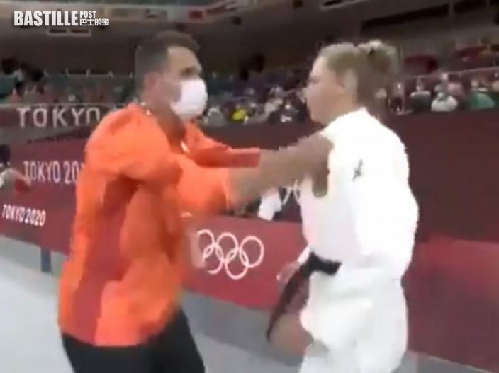 【東京奧運】賽前當眾遭教練掌摑 德國柔道女將賽後闢謠
