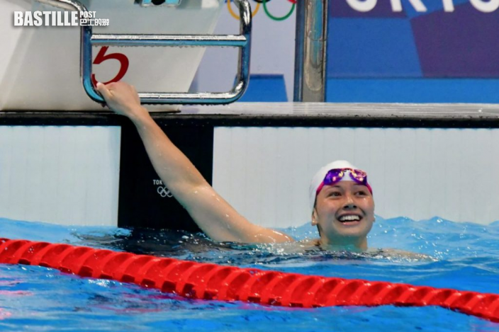 【東奧游泳】偶像菲比斯旁述比賽 何詩蓓覺得不可思議