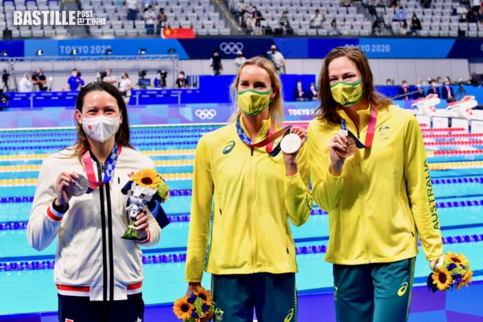 【東奧游泳】何詩蓓周五晚再出擊 出戰五十米自由泳初賽