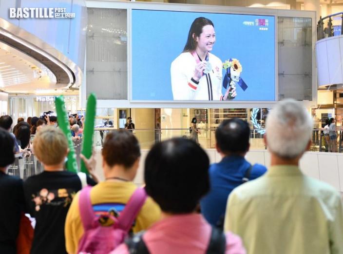 【東奧游泳】多個政黨祝賀何詩蓓再報捷 工聯會:妳是我們的驕傲
