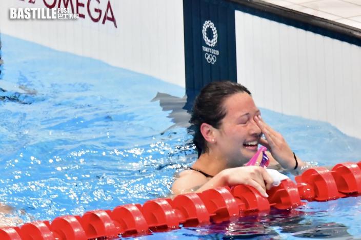 【東京奧運】何詩蓓兒時教練黃文凱讚表現100分 對泳隊有很大鼓舞作用