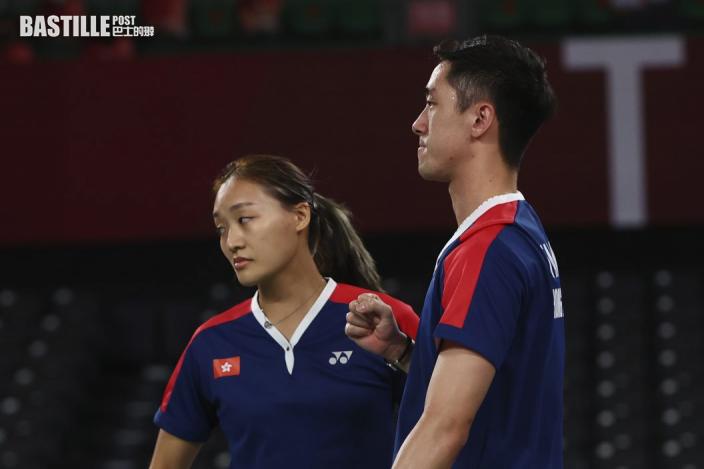 【東奧羽毛球】鄧俊文謝影雪銅牌戰敗陣 感謝教練陳康悉心指導