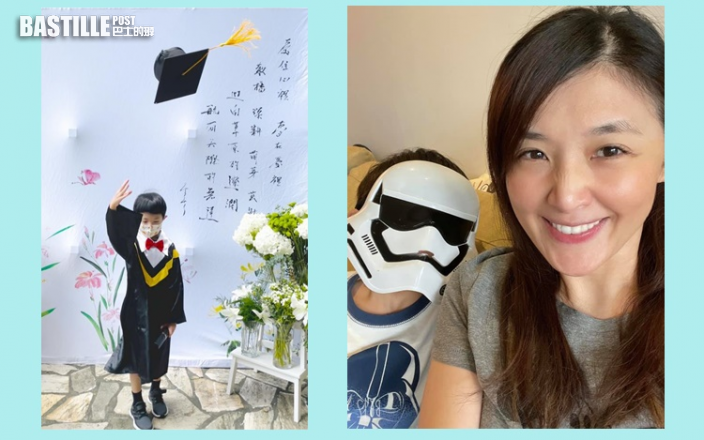 囝囝幼稚園畢業 蘇慧倫:穿整套學士服很有儀式感