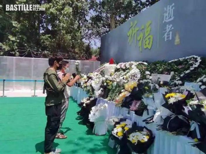 鄭州地鐵設追思處 悼念水浸罹難者
