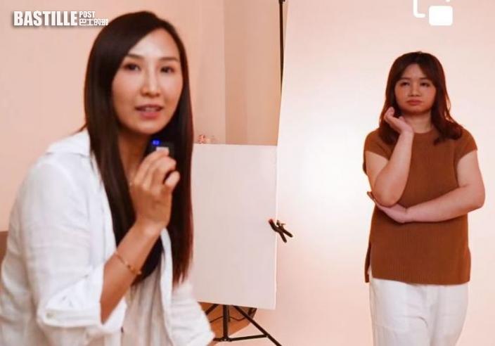 【簽亞視】出動梳化服搣走大媽look 薛影儀被改造成為「氣質女神」