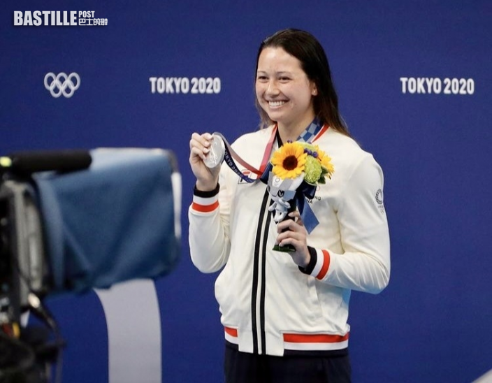 【東奧游泳】美國攝記為何詩蓓自豪
