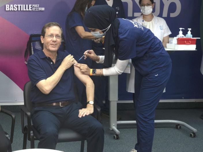 以色列展開打第3針疫苗計畫 總統領頭接種