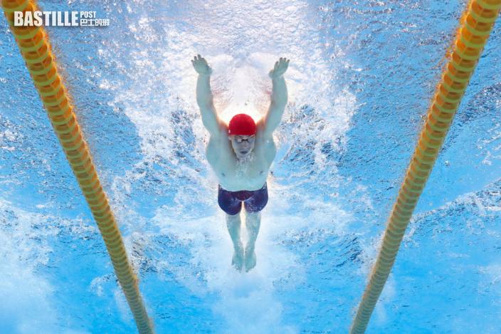 【東奧游泳】男女4x100米混合泳接力 英國破世績奪金