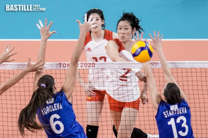 【東奧排球】同組對手相繼贏波 中國女排提前出局