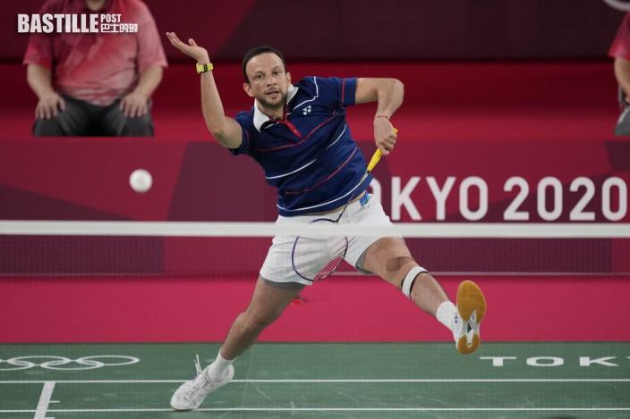 【東奧羽毛球】伍家朗對手哥頓殺入男單四強 惡鬥安賽龍爭入決賽
