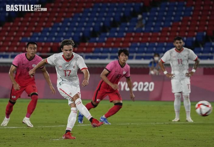 【東奧男足】日本氣走紐西蘭晉四     墨西哥南韓大演入球騷
