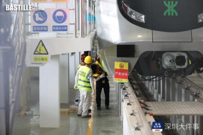 深圳首條無人駕駛地鐵線年底通車