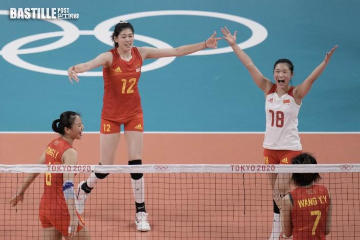【東奧排球】中國女排3:0贏意大利 提早出局郎平教練向球迷道歉