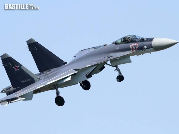 俄羅斯蘇35S戰鬥機鄂霍茨克海域墜毀 機師成功逃生