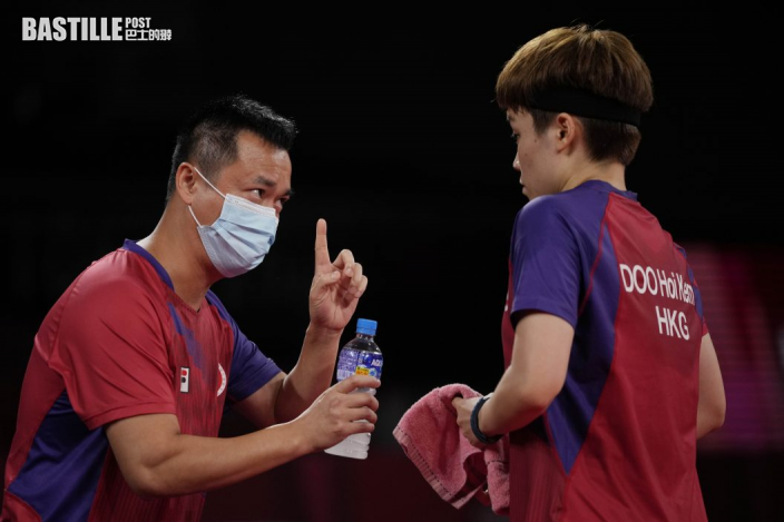 【東奧乒乓】女團十六強賽杜凱琹搶兩分 香港3:1破巴西入八強