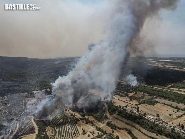 土耳其山火增至6死近570傷 度假區大批旅客疏散
