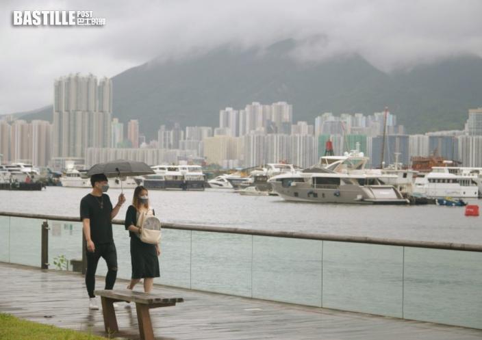 雷雨區未來一兩小時影響香港 南丫島雨量或逾70毫米