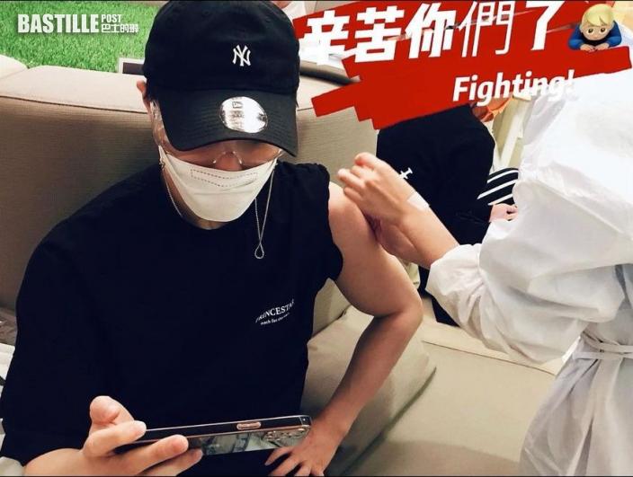 接種疫苗後受副作用困擾 王子反覆發燒逾兩日