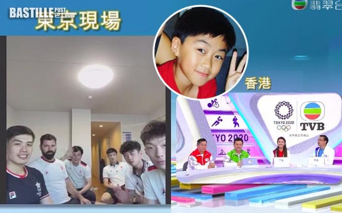 TVB獨家視像訪問花劍隊 吳諾弘談做童星有助抗壓