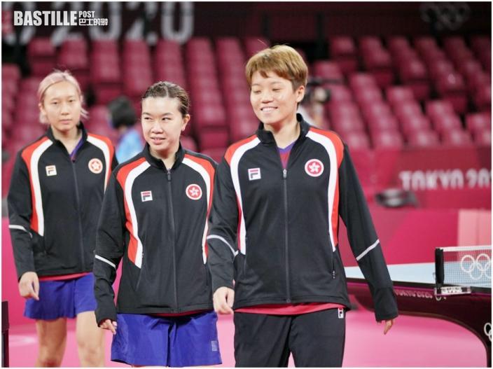 【東京奧運】港隊戰況一覽 女乒搶入團體賽四強