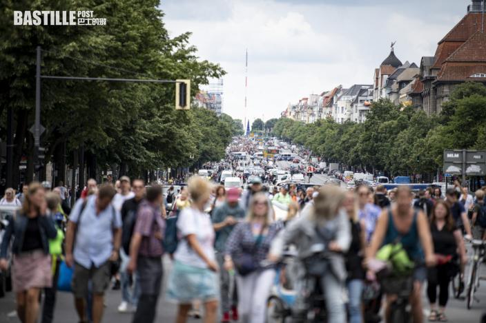 德國柏林民眾抗議防疫措施 與警衝突600人被拘捕