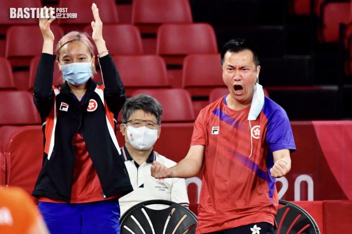 【東奧乒乓】杜凱琹李皓晴各自搶分 港女隊3:1逆轉挫羅馬尼亞殺入四強