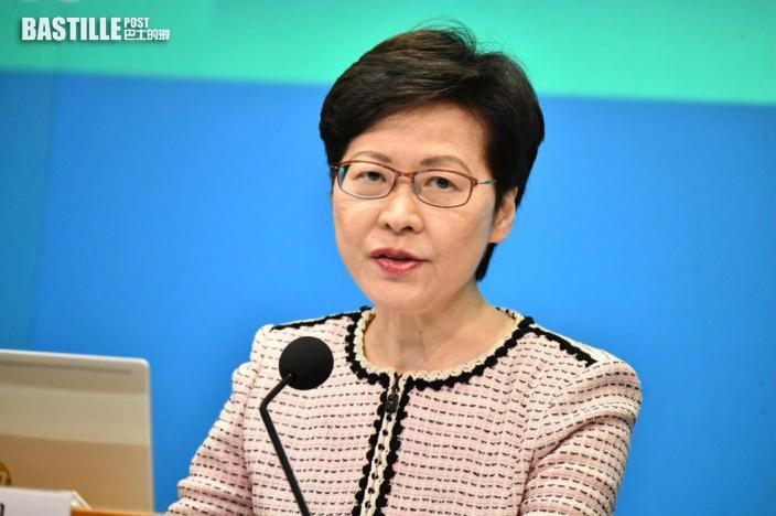 否認迫公務員打針 林鄭稱有選擇權:西方也有強硬措施