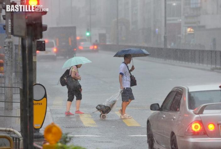 雷暴警告生效 香港有局部地區雷暴