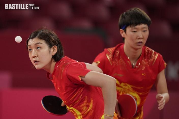 東奧乒乓 國家隊晉身決賽與日本爭金