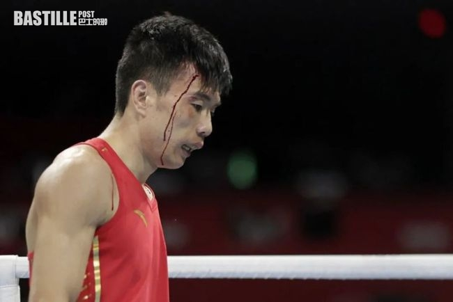 東奧拳擊︱被日選手頭撞肘擊致血流披面 中國拳手指裁判不公成犧牲品