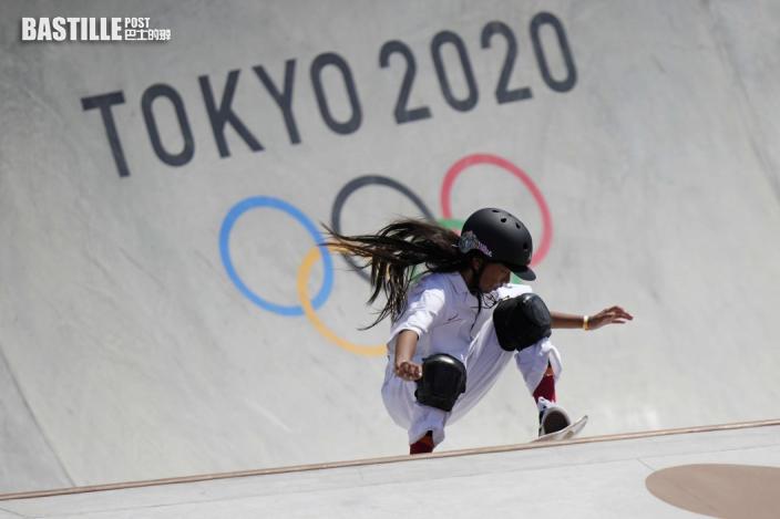 【東奧滑板】女子滑板公園賽 布朗摘銅成英國最年輕獎牌選手