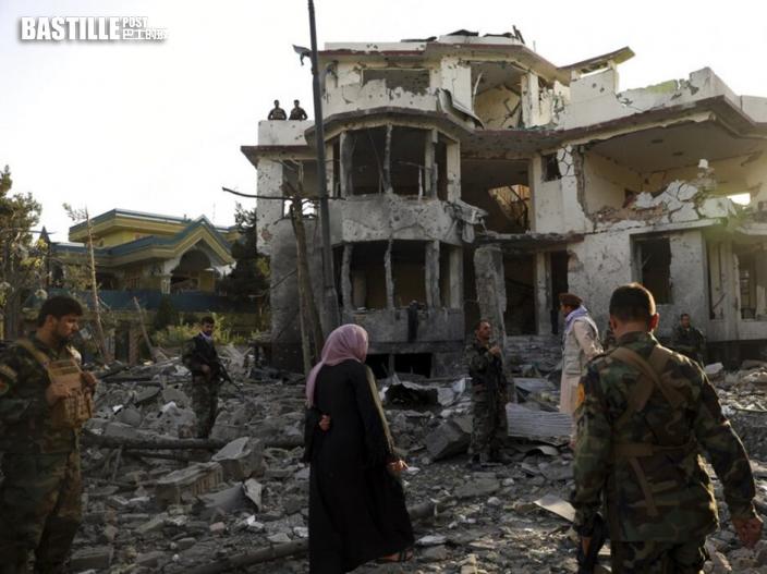 武裝分子襲擊喀布爾社區 至少4死20傷