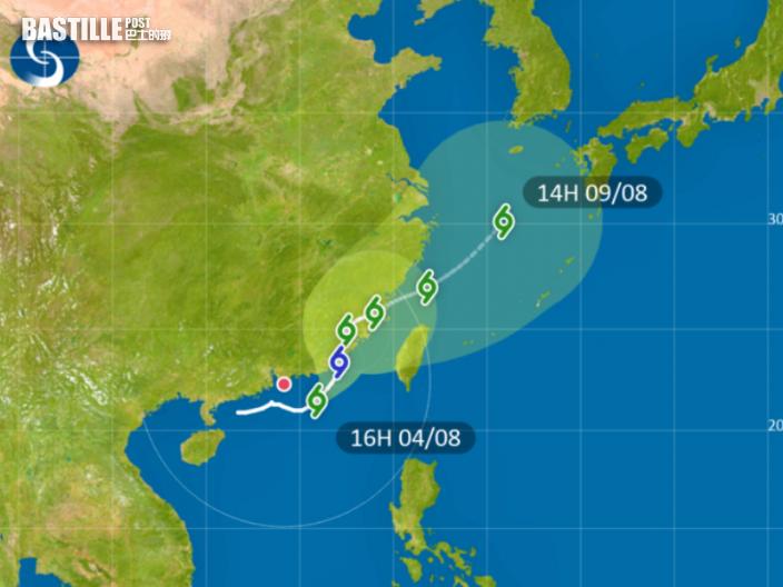天文台:受熱帶氣旋盧碧影響 未來一兩小時雨勢較大