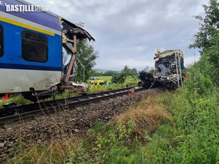 捷克兩列火車相撞 釀至少2死50傷