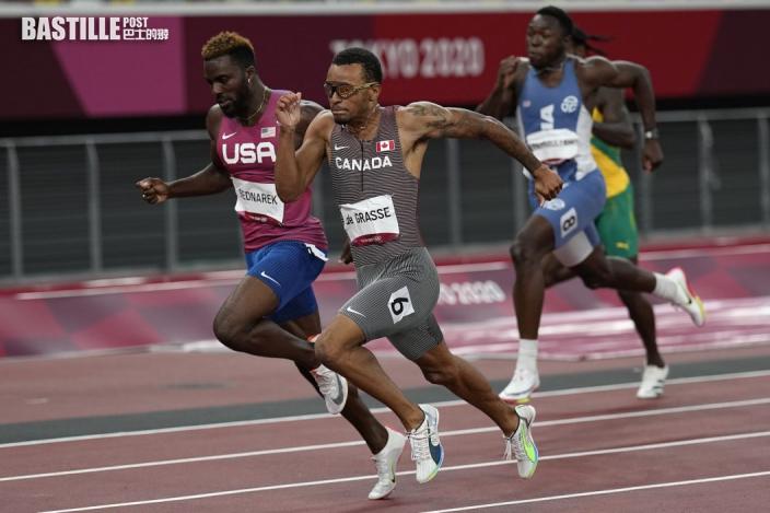 【東奧短跑】男子200米 迪加斯個人最佳時間奪金