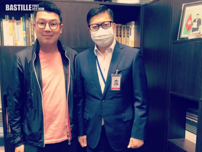 Kelly Online|立會放暑假 劉國勳巧遇鄧炳強「突擊檢查」