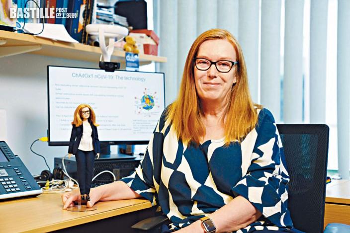 參與疫苗研發牛津女教授成芭比原型