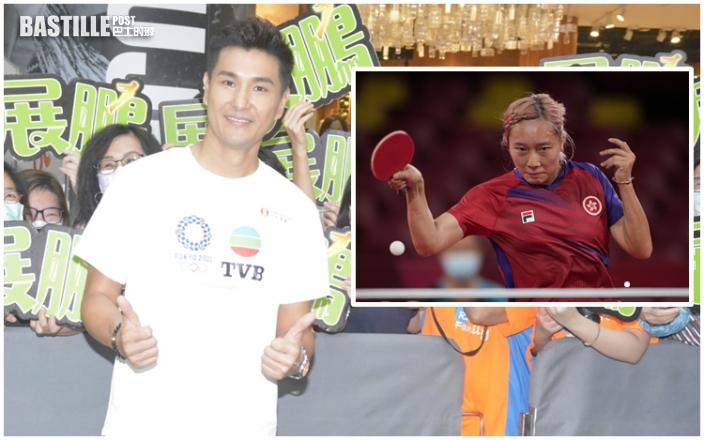 陳展鵬以乒乓女團奪銅牌為榮:今年香港隊好犀利