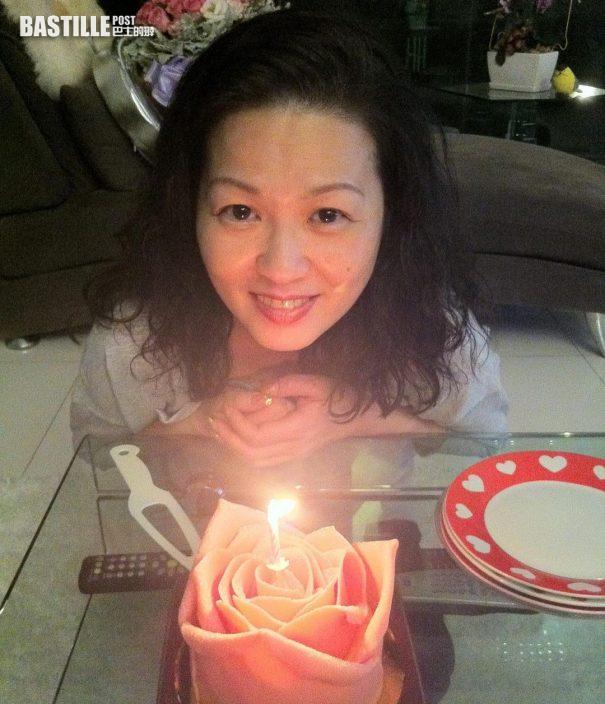 梁潔華61歲生忌       黃芷晴買蛋糕同媽媽慶祝